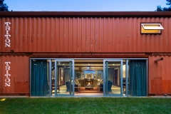 Adam Kalkins Old Lady House Shipping Container Home