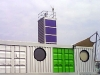 Barking Riverside Shipping Container Marketing Suite