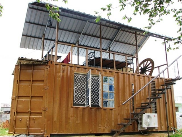 dabba mane india shipping eco container home