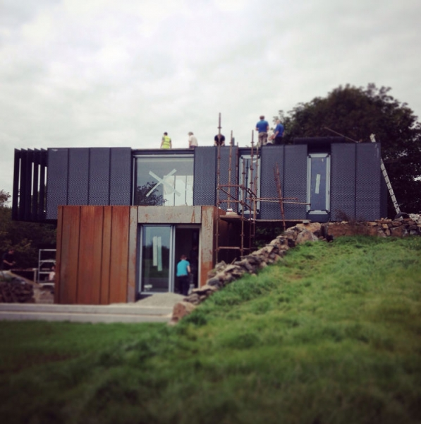 Archive Grand Designs Container House In Ireland Nez