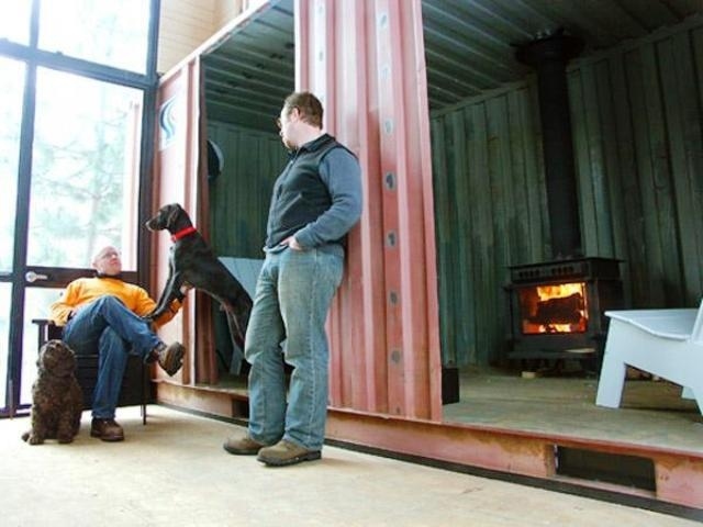 holyoke cabin a shipping container home