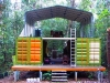 A Shipping Container Rainforest Research Center