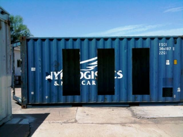 Recycled Shipping Container Home 640 x 480