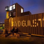 The BadGast Shipping Container Artist-in-Residence Studio