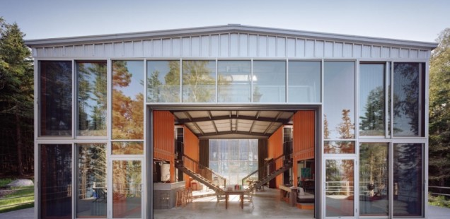 Adam Kalkin Maine 12 Container House