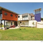 The New Jerusalem Shipping Container Children's Home. Midrand, South Africa.