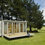 Port-a-Bach. A Holiday Shipping Container Home. New Plymouth, New Zealand.